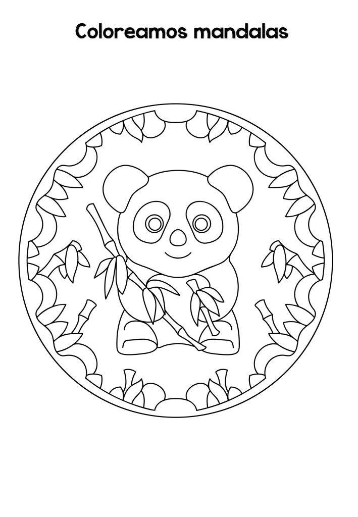 Mandalas De Animales Para Ninos Faciles Para Imprimir Y Colorear Orientacion Andujar Mandalas Animales Mandalas Para Ninos Mandalas Para Colorear Ninos