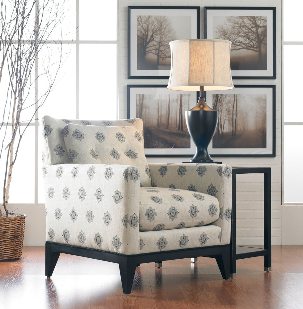 Sherrill Traditional Accent Chair with Track Arms Furniture