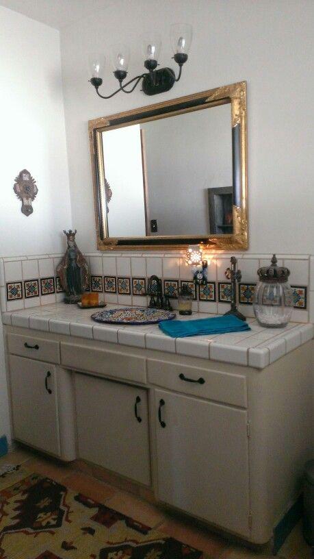 Mexican bathroom