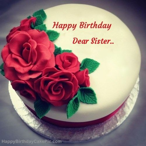 Happy Birthday My Sweet Sister Cake Images Imaganationface Org