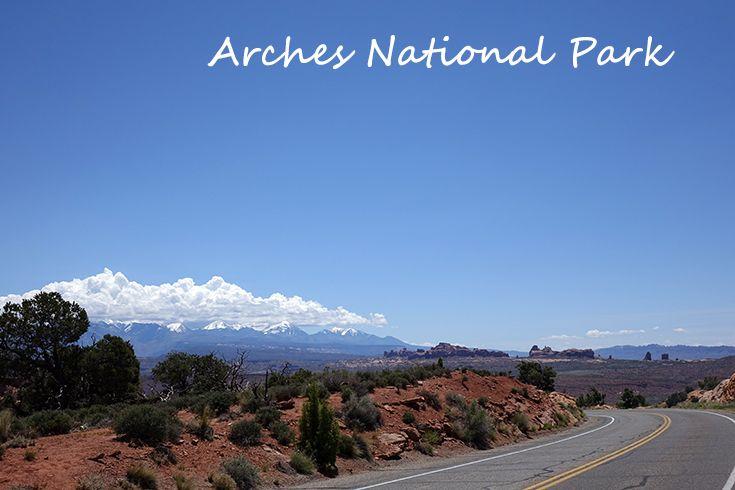 Unterwegs zu Arches National Park - Roadtrip - Westküste USA - Reisebericht