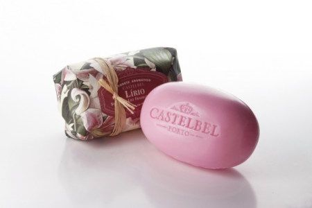 beautiful soap and packaging