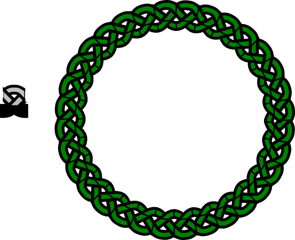 Celtic Circle Knot Sticker By Imagefactory Clipart - Free Clip Art ...