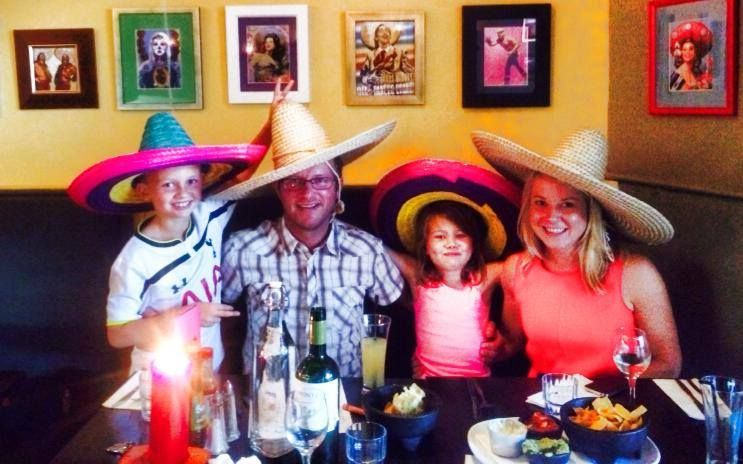 A family outing at The Flying Burrito Brothers Albany for brunch NZ Mexican- www.flyingburritobrothers.co.nz