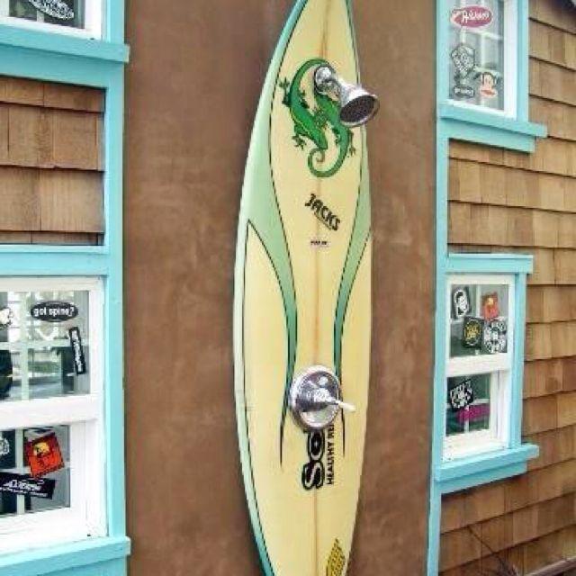Such A Cool Idea Strandhaus Dekoration Gartendusche Strandhaus