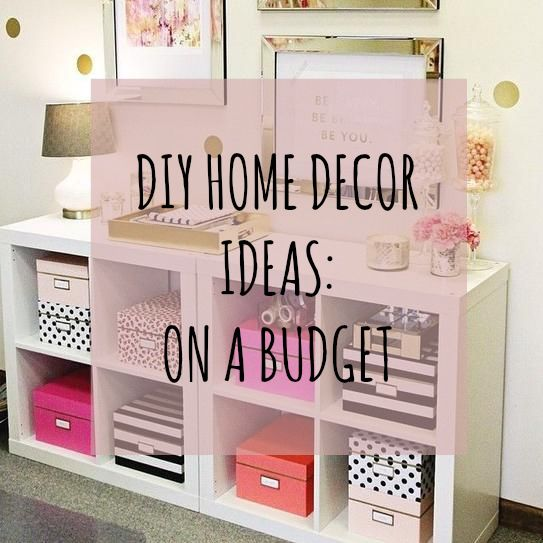 Blonde and Cupcakes DIY Home Decor Ideas On A Budget