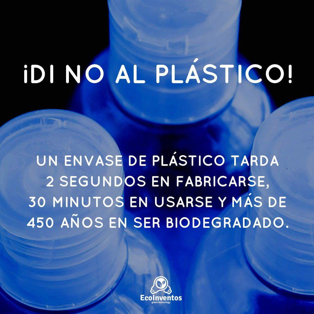 ¡Di no al plástico! | frases naturaleza | Manualidades ...