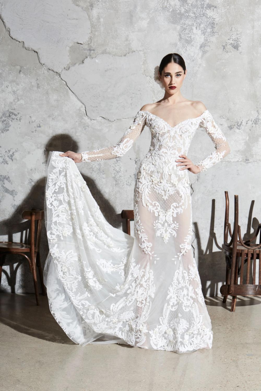 Zuhair Murad Bridal Spring 2020 Fashion Show Zuhair Murad Bridal Wedding Dresses Beaded Mermaid Wedding Dress [ 1500 x 1000 Pixel ]