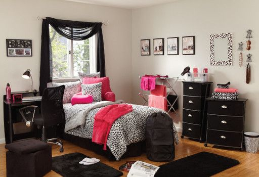 DKNY Cheetah Bedding - Room Styling