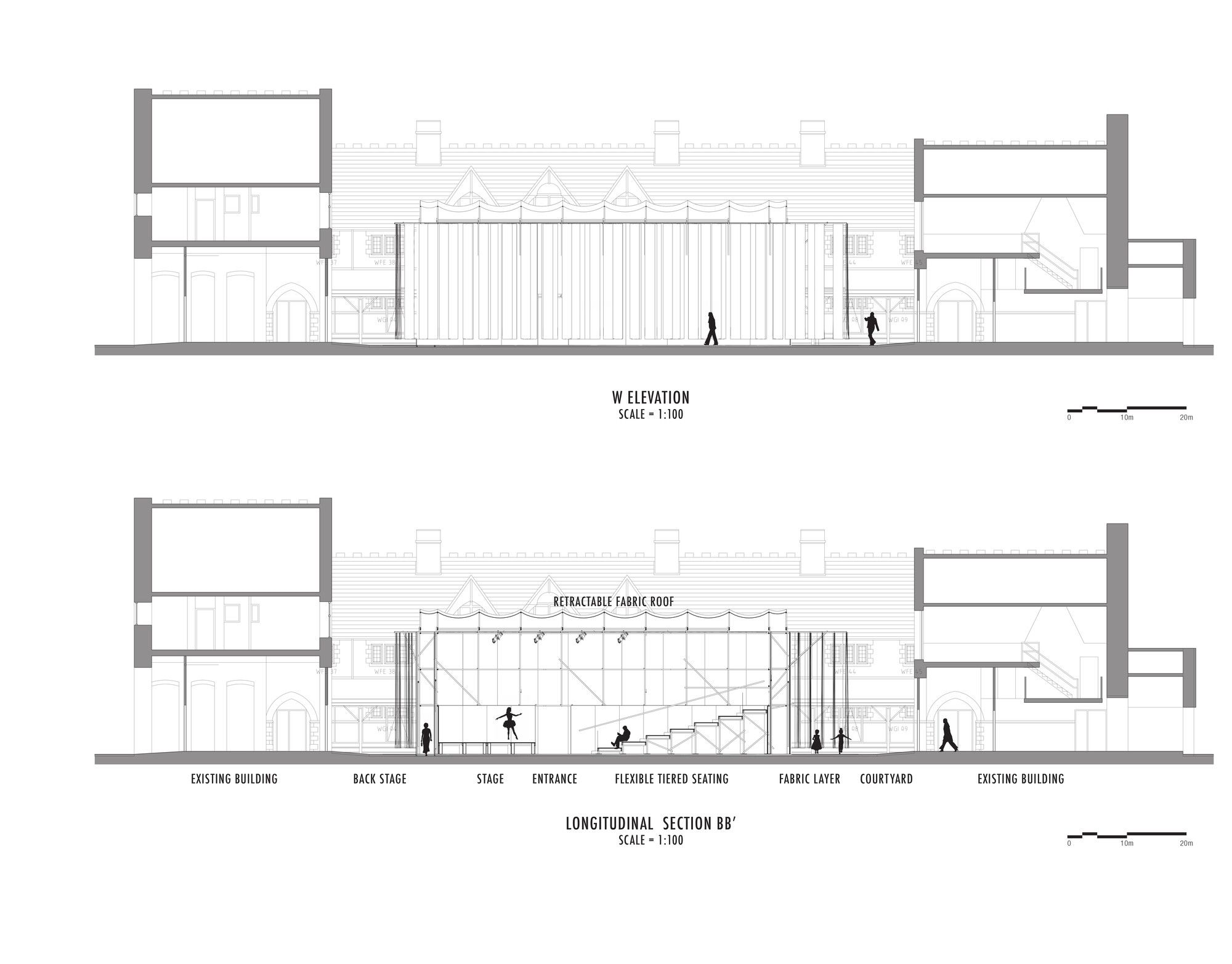 Gallery Of Willow Theater Tim Lai Architect Brad Steinmetz Stage Design 15 Floor Plan Creator Stage Design Cinema Design