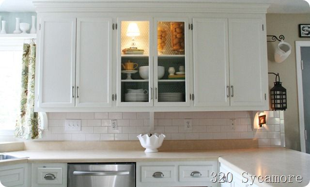 excellent resource for painting cabinets including amazing