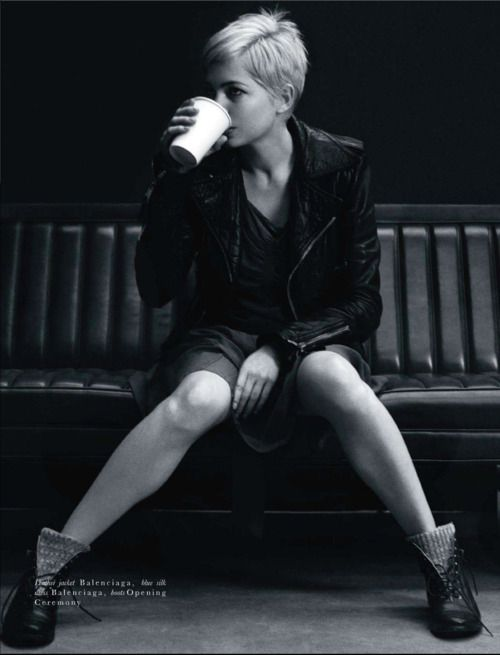 Michelle Williams. The classiest human being to ever live.