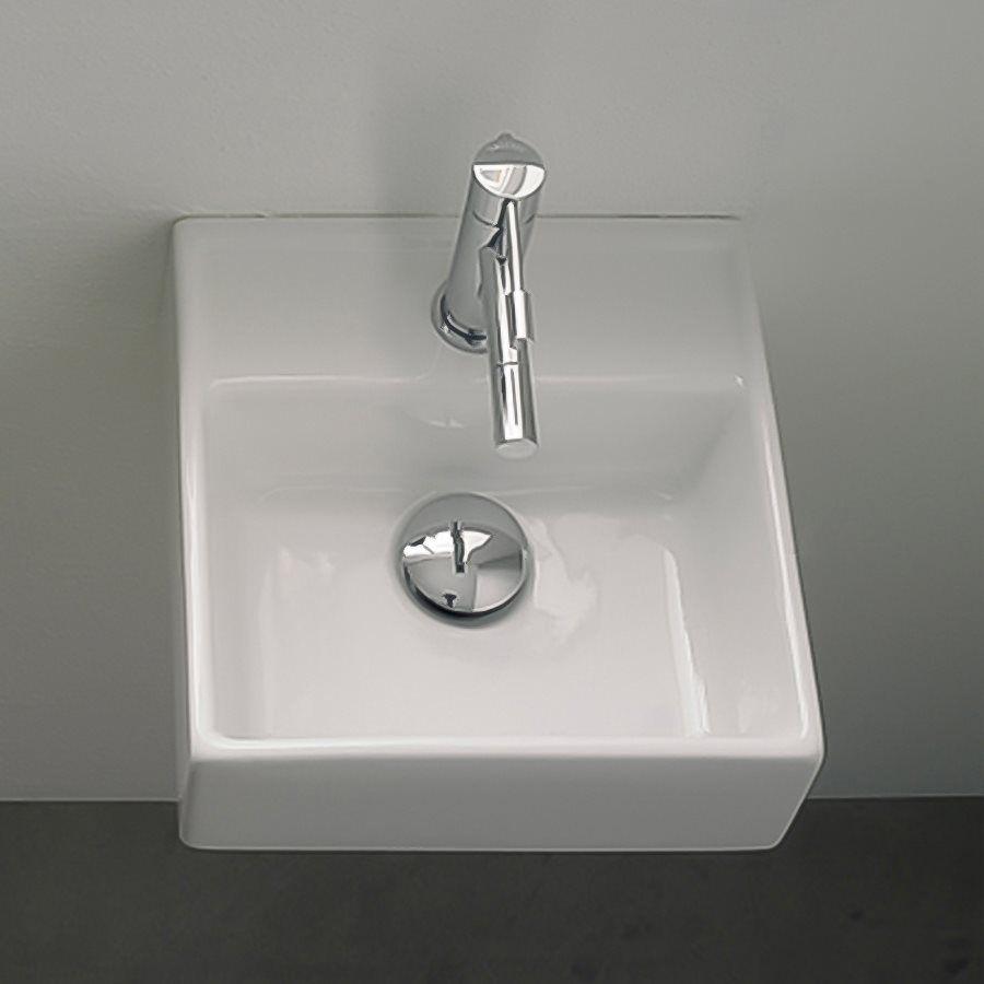 shop nameeks art  scarabeo teorema washbasin wall mount  - shop nameeks art  scarabeo teorema washbasin wall mount bathroom sinkwhite at atg