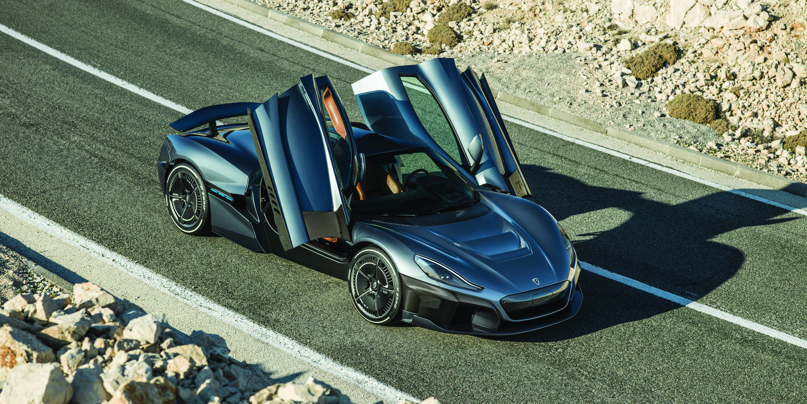 Rimac C Two Fully Electric Hypercar With 1914hp And 650km Of Range