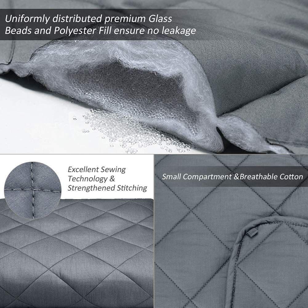 Cocobela Gewichtsdecke Aus 100 Baumwolle Schwere Decke Anti
