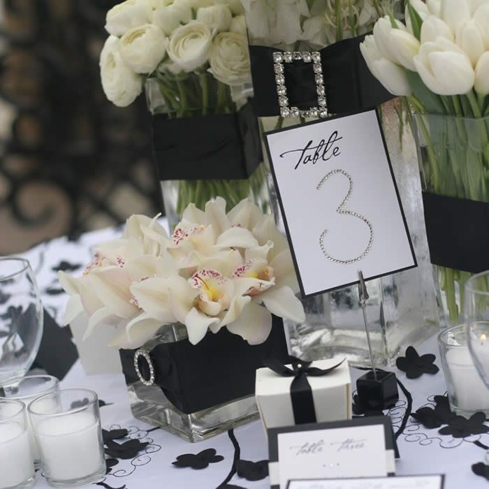 black-and-bling-party-theme-trapping