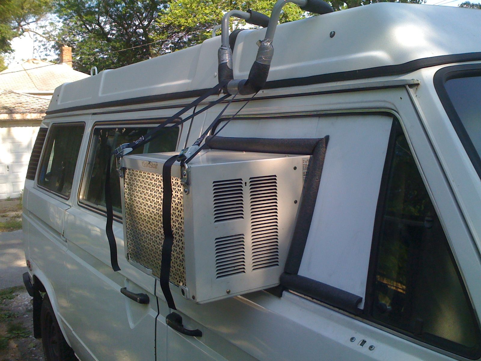 minivan camping air conditioning Minivan Camping