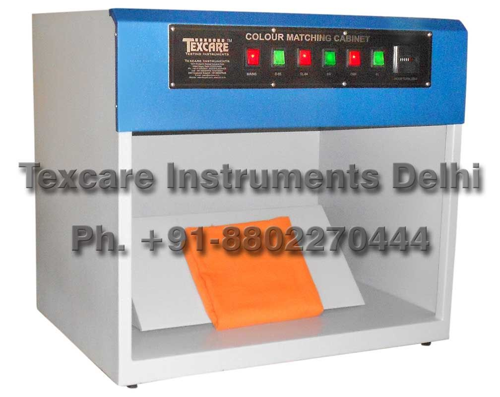 Colour Matching Cabinet Phone: +91-9990592299 Email: info@texcare.co.in