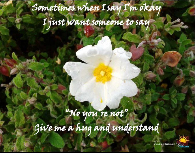 Sometimes I Am Not Okay | The Grief Toolbox