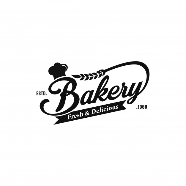 Bakery Vintage Logo In 2020 Bakery Logo Design Vintage Logo Bakery Logo