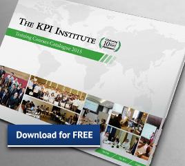 The KPI Institute course catalogue