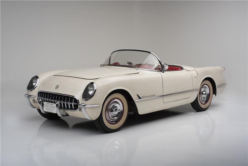 1954 Chevrolet Quot Entombed Quot Corvette Barrett Jackson