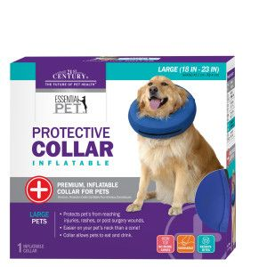 Calm Paws Behavior Support Protective Inflatable Pet Collar Pet