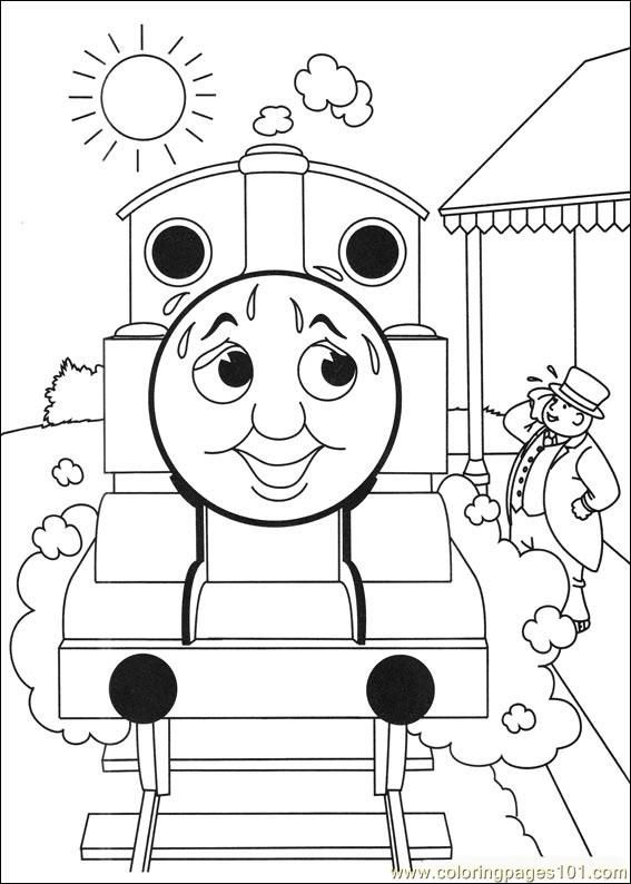 Explore Coloring Pages For Kids Book And More Thomas Friends