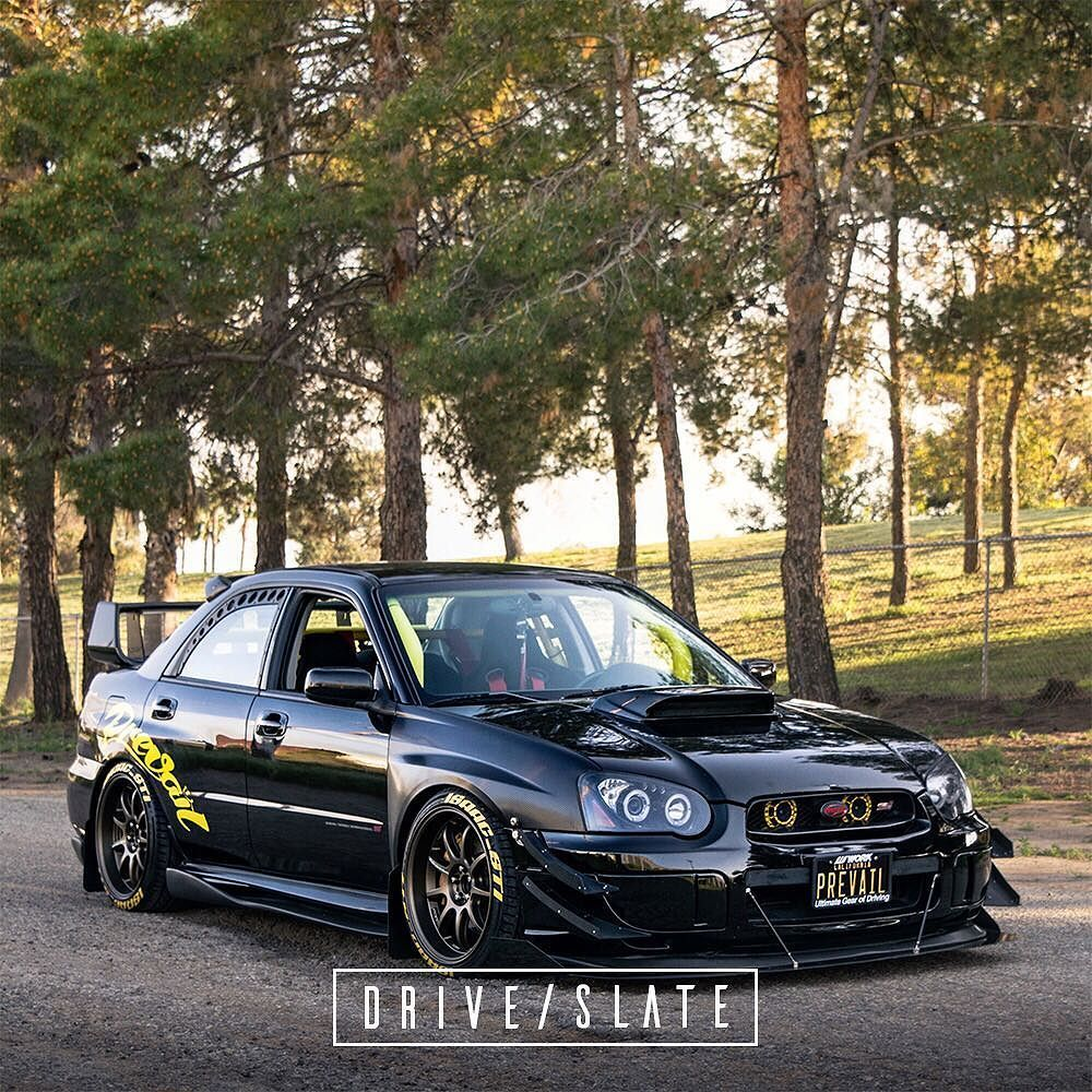 2004 Subaru WRX STI Join the Nation #driveslate ...