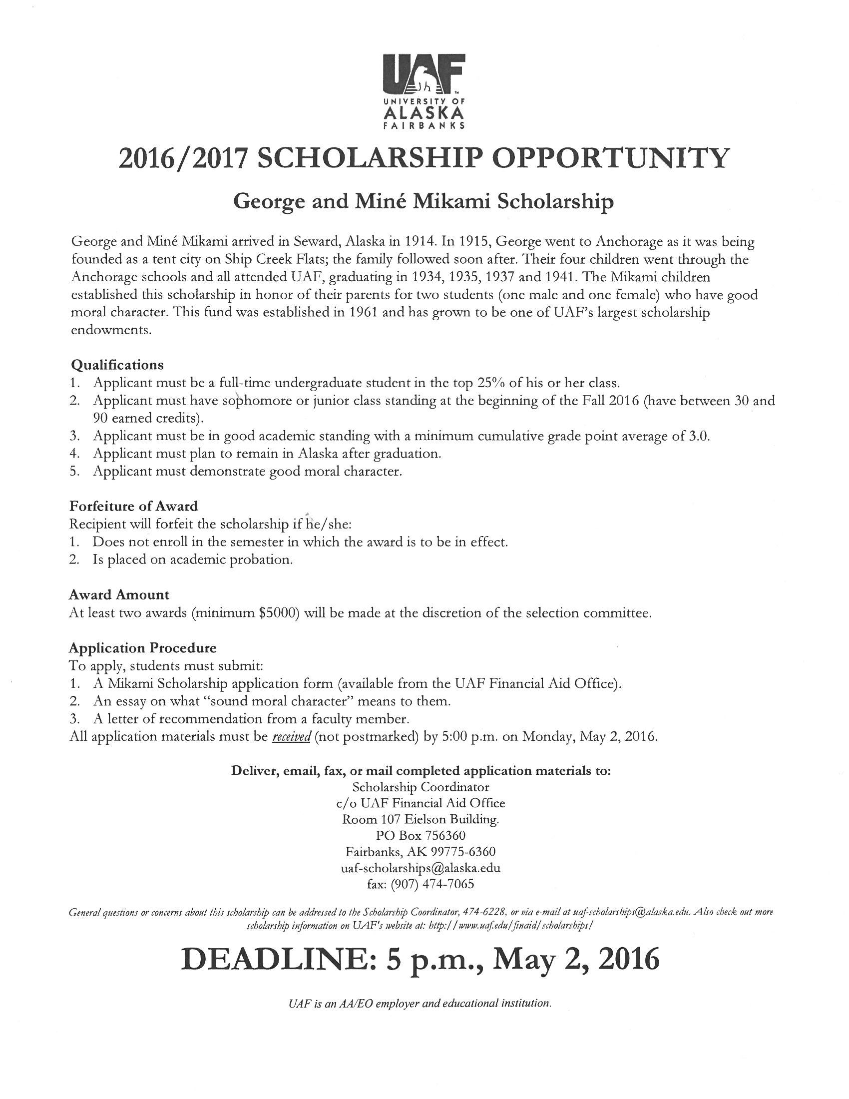 Pin By Uaf Trio Sss On Scholarships