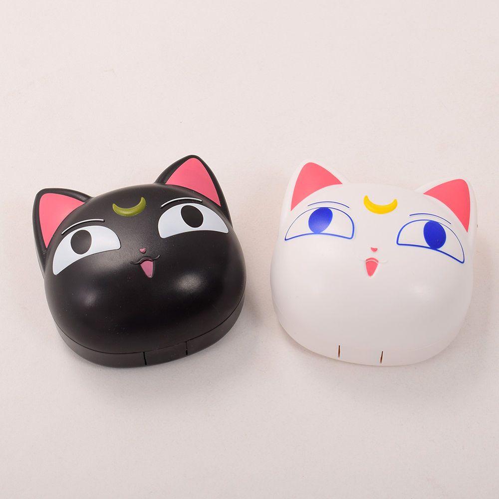 Details about anime sailor moon cat luna contact lens box