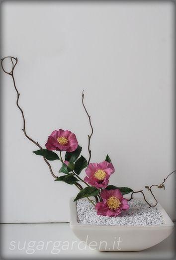ikebana | Ikebana – Camelia | The Sugar Garden
