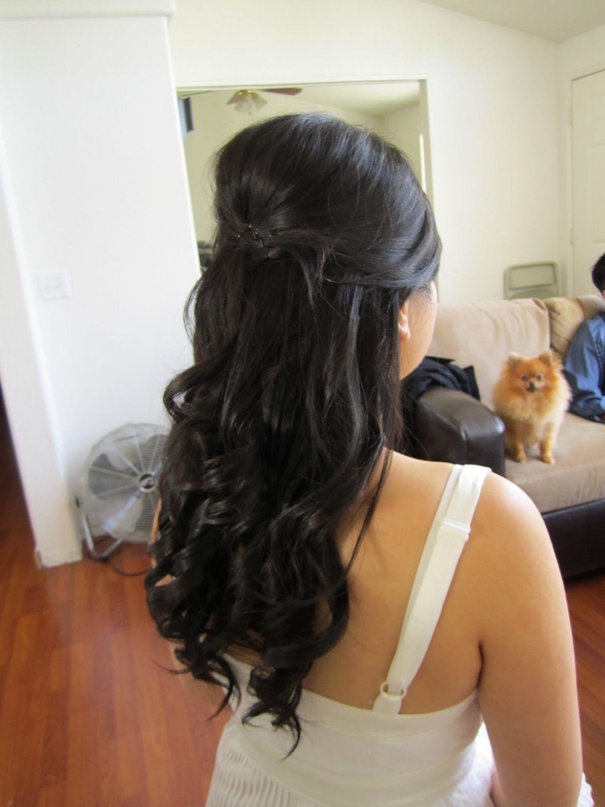 Hair idea weddinggggg pinterest hair inspo