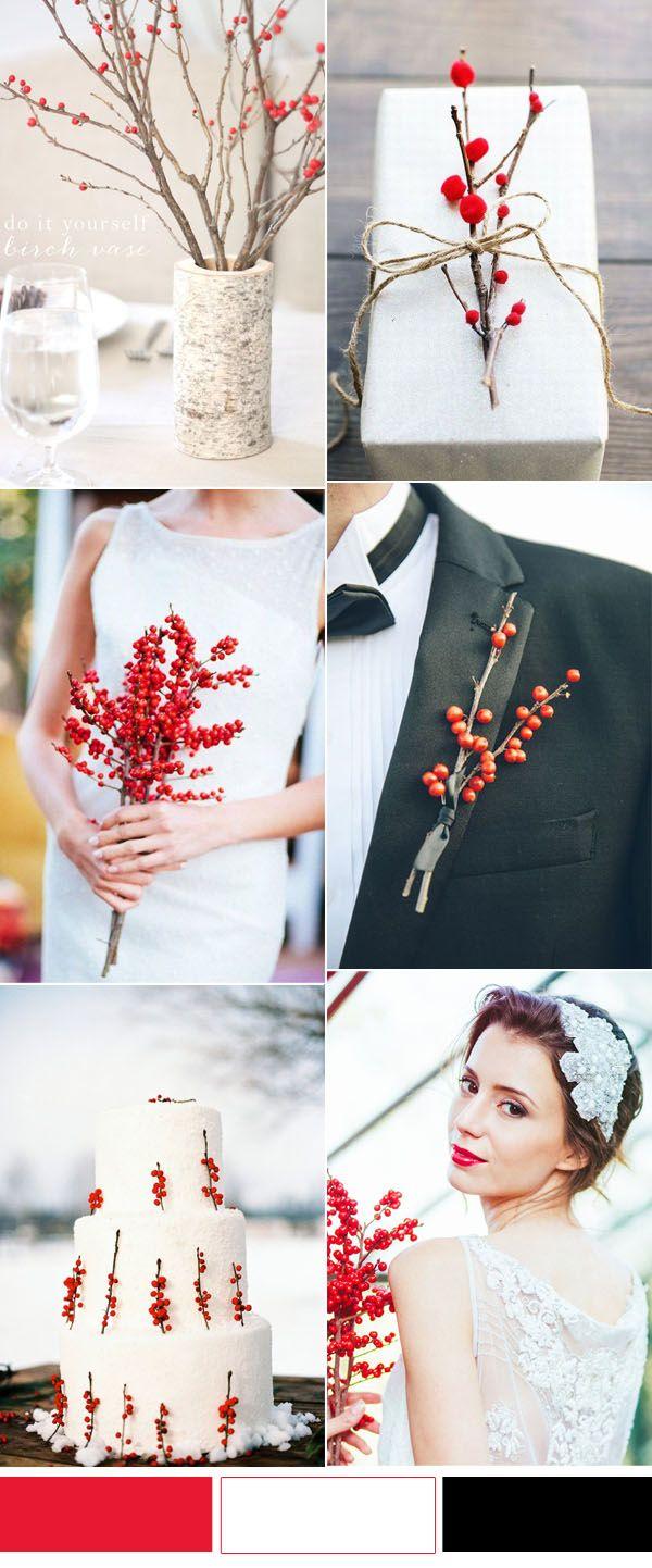 Cozy Christmas Festive Wedding Ideas For Winter Brides Winter