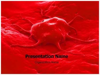 Cancer Cell Powerpoint Template For Powerpoint Presentation