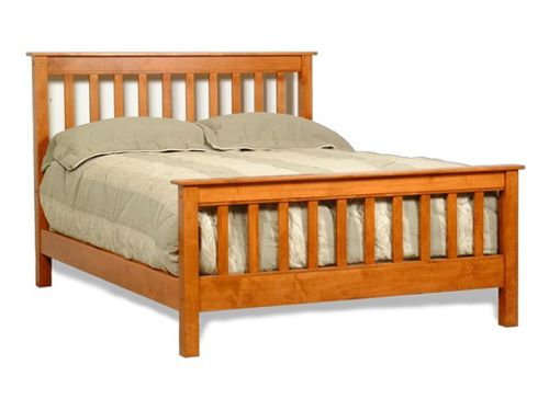 Mission Bed Frame By American Woodcraft Bedrooms More Seattle