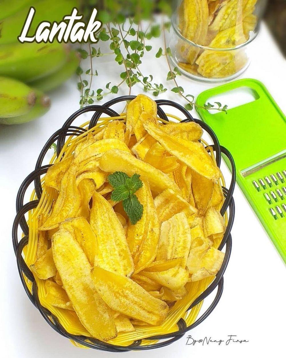 10 Cara Membuat Keripik Pisang Enak Renyah Dan Sederhana Instagram Makanan Dan Minuman Keripik Pisang