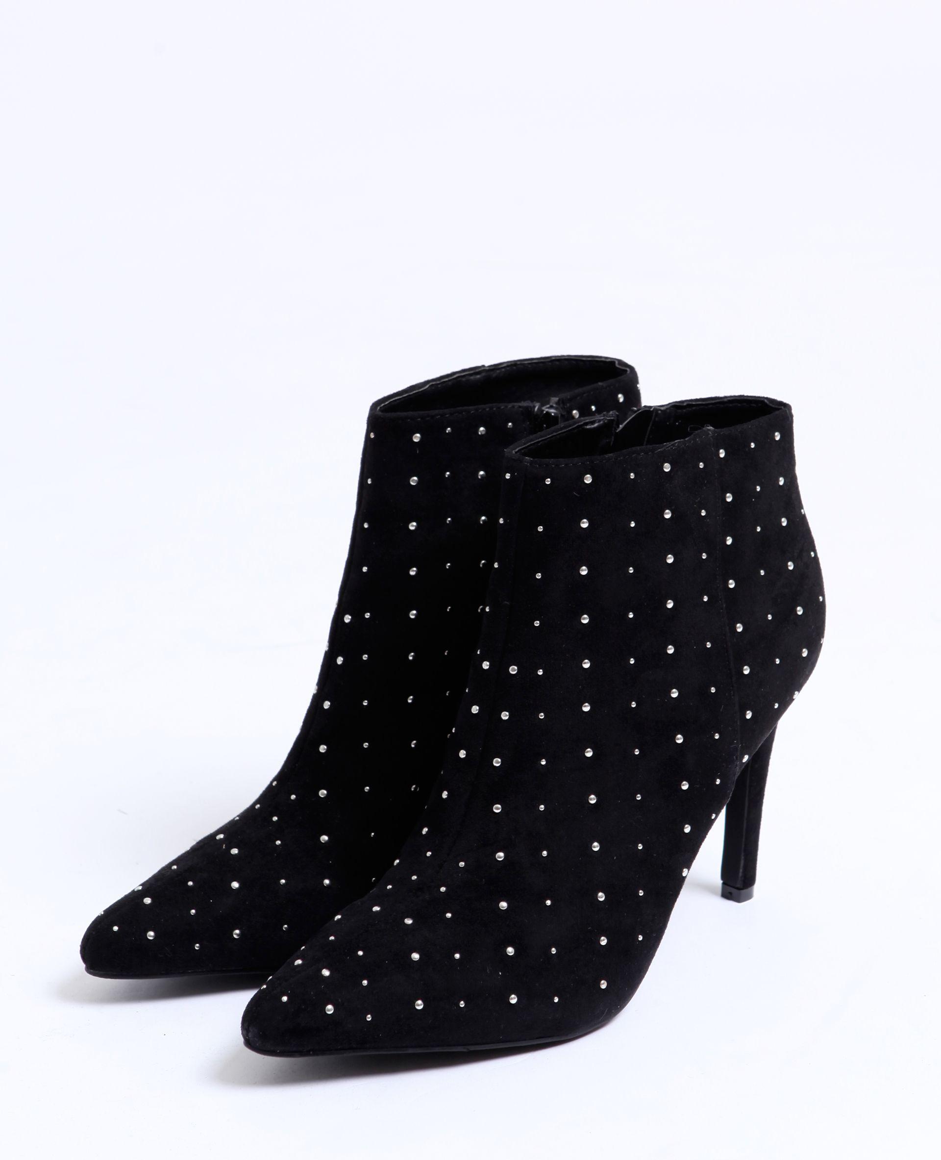Boots Cloutees Noir 916801899a08 Pimkie 2018 19 Winter