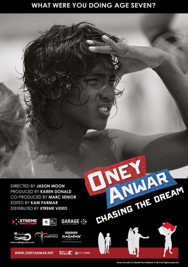 Oney Anwar Chasing The Dream Karen Donald Uk 2014 Balinale Balinale Bali International Film Festival Shortfilms Oneyanwar