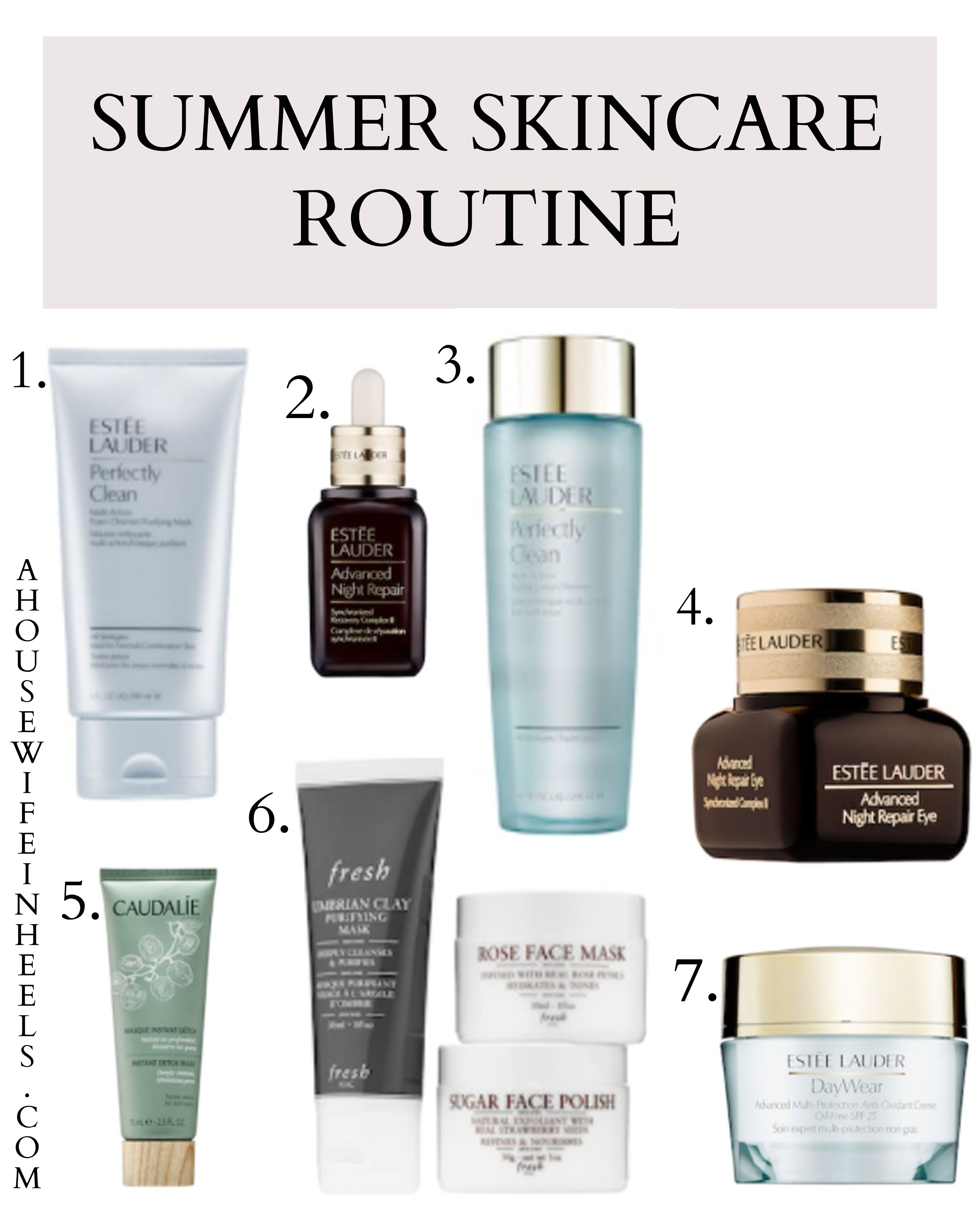 Summer Skincare Routine Confessions Of Vanity Summer Skincare Routine Summer Skincare Skin Care