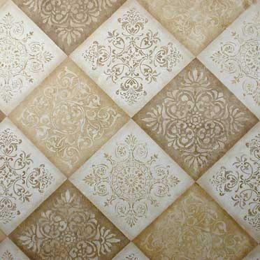 Classic European and Italian Designs Tile Wall Stencils - Royal Design Studio