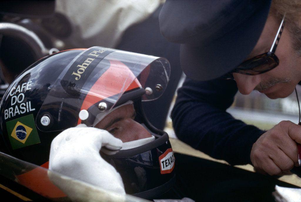 Emerson Fittipaldi | Colin Chapman (1972)