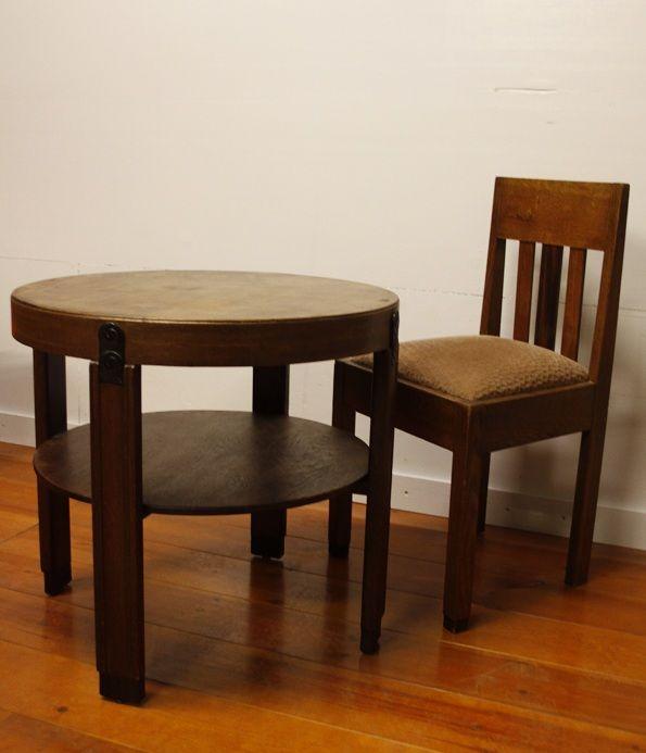 Te koop twee prachtige authentieke art deco amsterdamse for Jaren 60 meubelen