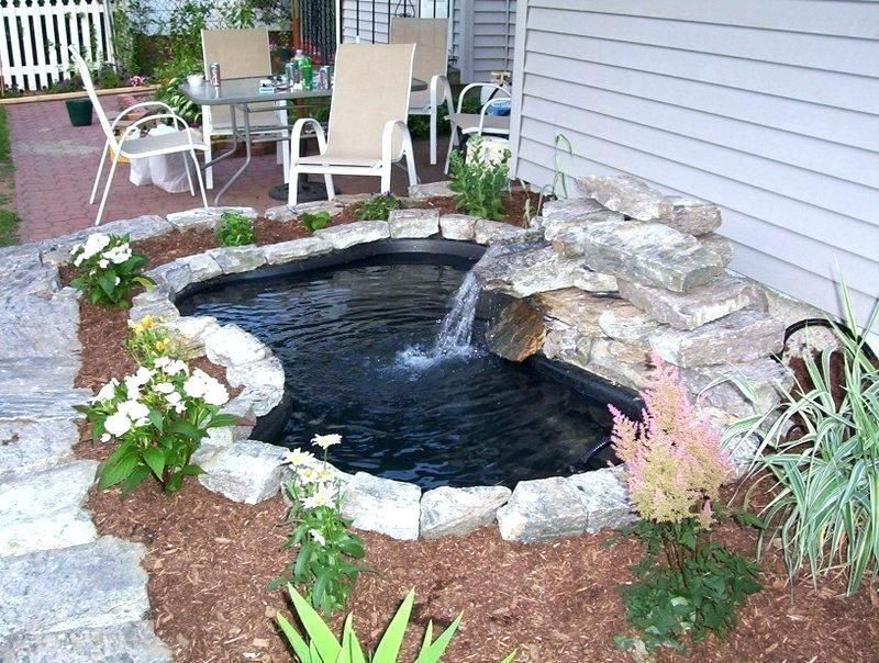 Small Pond Design Garden Pond Design Small Backyard 400 x 300