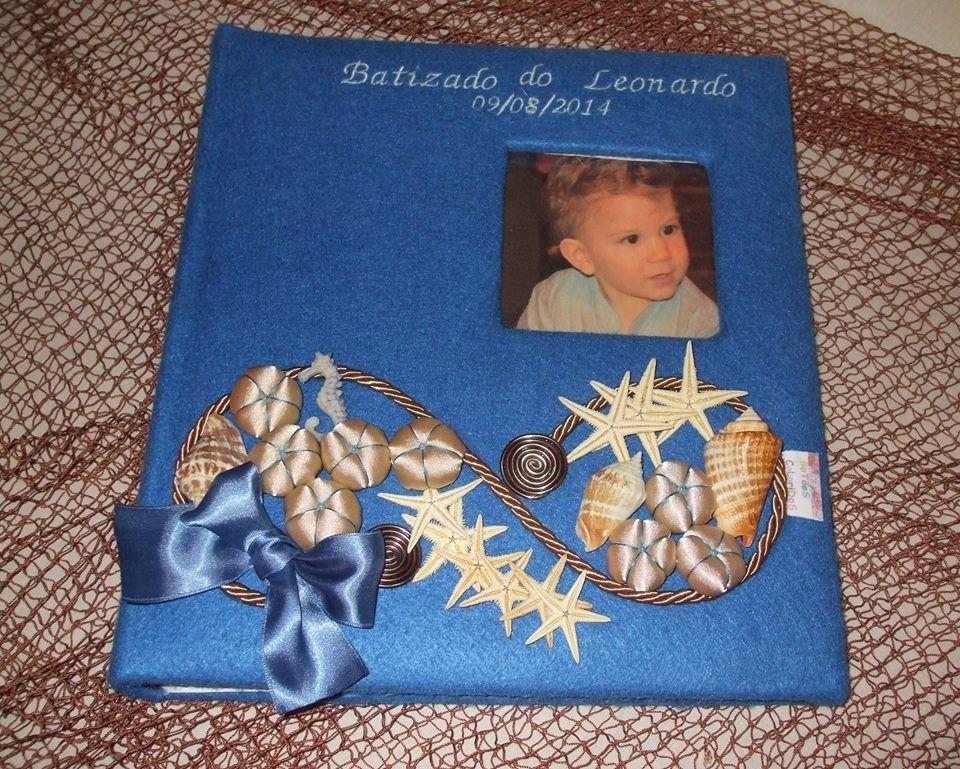 Álbum Batizado Tema Mar