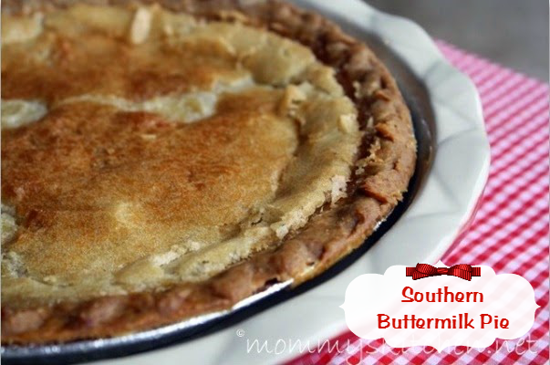 This Simple Southern Buttermilk Pie Is The Perfect Addition To Your Thanksgiving Dessert Table Mommyskitchen Buttermi Recipes Buttermilk Pie Dessert Recipes