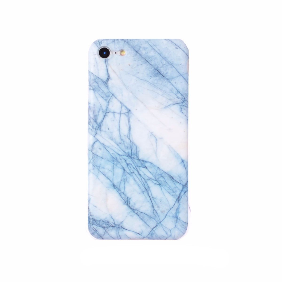 iPhone Case - Light Blue Marble