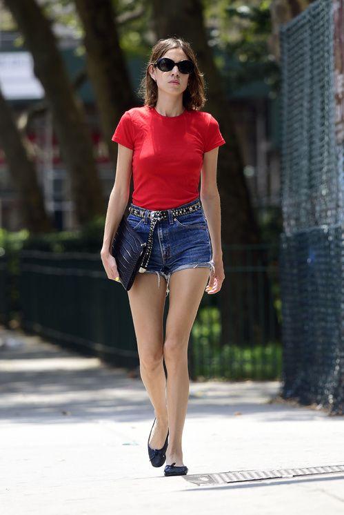 Alexa Chung à New York