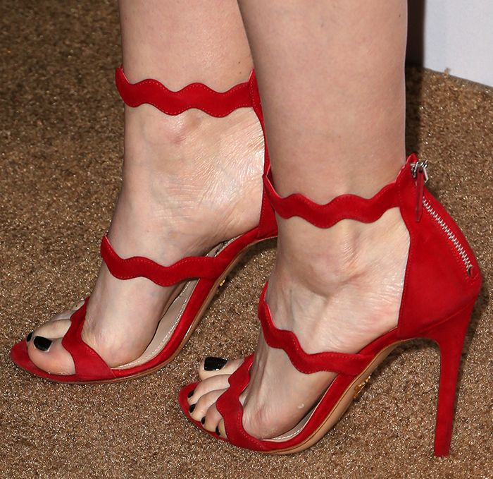 strappy sandals - Red Prada