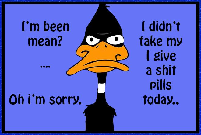 Awesome Daffy Duck ~ Quotes ~ Mood ~ Humour ~